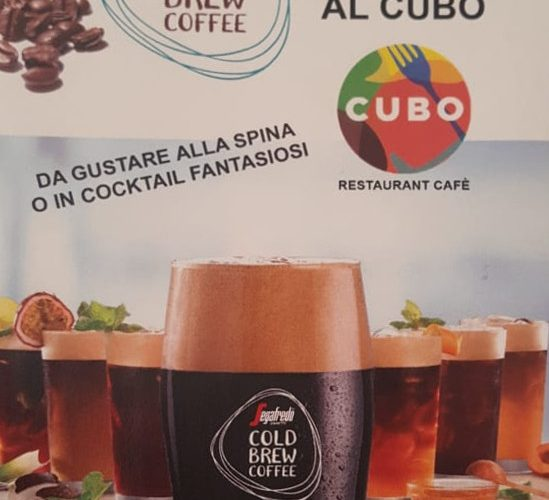 CUBO – Cold Brew Coffee Segafredo